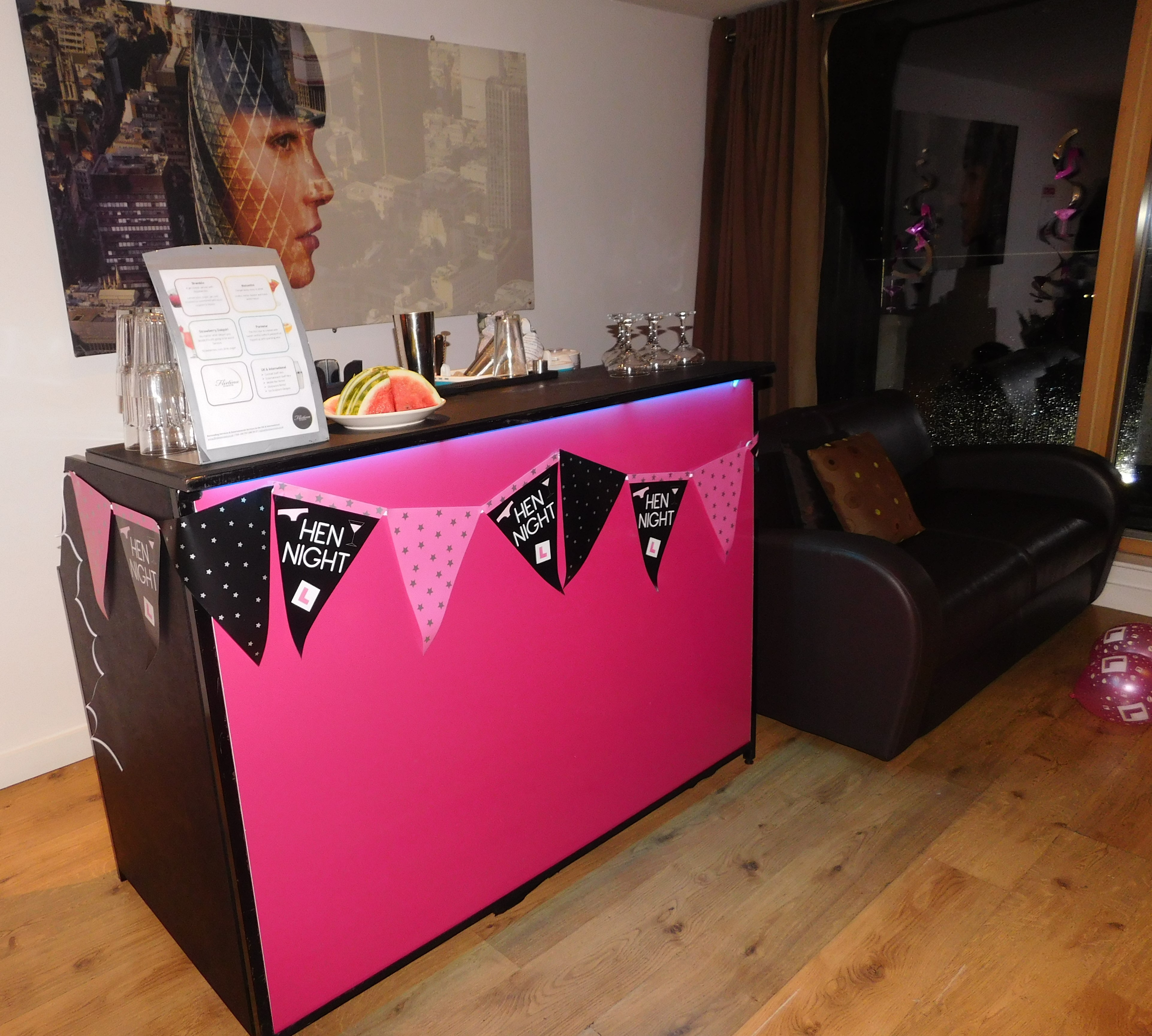 Pink Gloss Bars