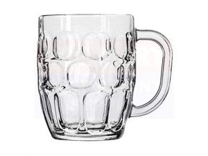 Dimple Pint Beer Glass Tankard 20oz / 57cl