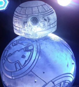 Star Wars Droid Ice Luge