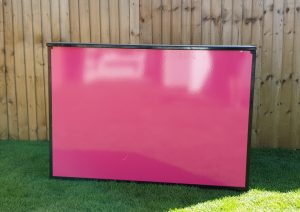 Pink Mobile Cocktail Bar Hire