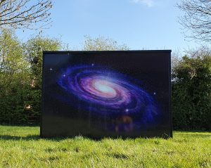 Galaxy Space Themed Bar Hire