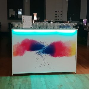 Artistic Mobile Cocktail Bar Hire